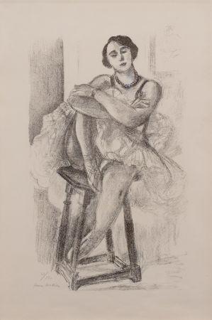 Litografia Matisse - Danseuse au Tabouret, from Dix Danseuses