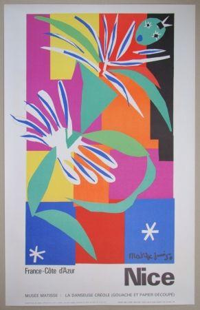 Litografia Matisse - Danseuse créole, 1950
