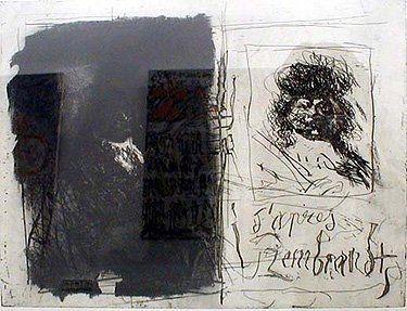 Acquaforte E Acquatinta Clavé - D'apres Rembrandt I-I