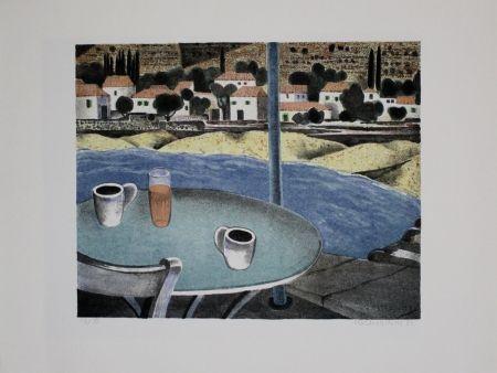 Litografia Breiter - Das Café