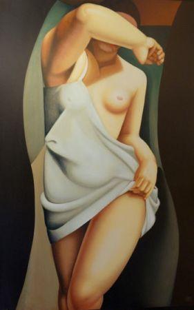 Serigrafia De Lempicka - Das Modell