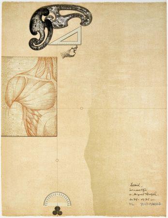Litografia Subirachs - David