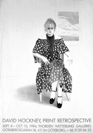 Non Tecnico Hockney - David Hockney, Print Retrospective