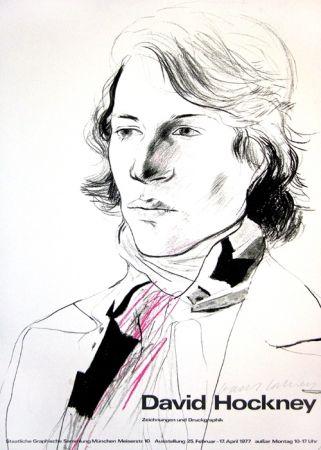Manifesti Hockney - David Hockney, Zeichnungen und Druckgraphik