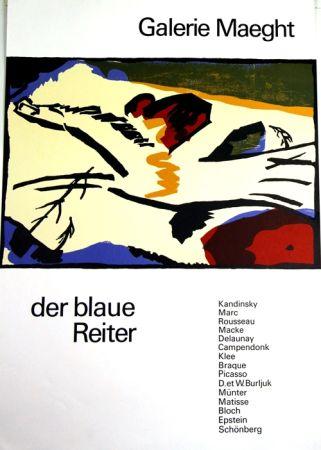 Litografia Kandinsky - De Blaue Reiter
