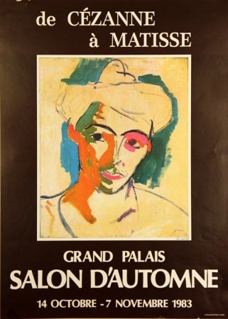 Offset Matisse - De Cezanne à Matisse  Grand Palais