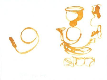 Litografia Beuys - De la vie des abeilles (Aus dem Leben der Bienen)