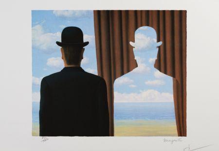 Litografia Magritte - Decalcomanie
