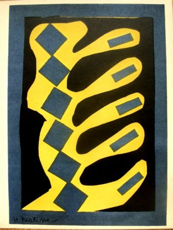 Litografia Matisse - Decoupages Pour Le Xxe  Siecle