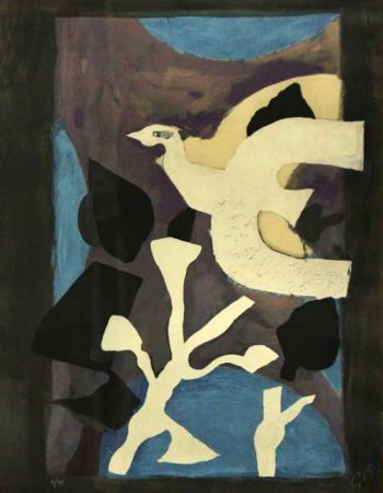 Litografia Braque - Denners Messages