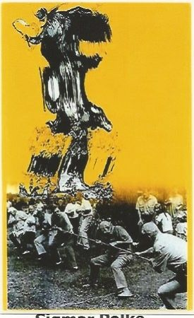 Serigrafia Polke - Der Teifel von Berlin