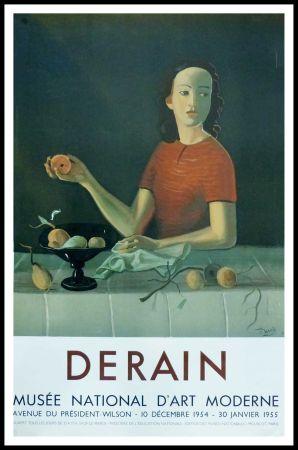 Manifesti Derain - DERAIN - EXPOSITION MUSÉE NATIONALE D'ART MORDERNE