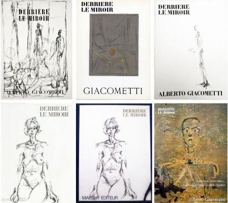Libro Illustrato Giacometti - DERRIÈRE LE MIROIR. COLLECTION COMPLÈTE DES NUMÉROS CONSACRÉS À A. GIACOMETTI (1951-1979)