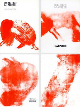 Libro Illustrato Garache - DERRIÈRE LE MIROIR. GARACHE. Réunion des 3 numéros de la revue consacrés à Claude Garache (de 1975 à 1980).