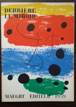 Libro Illustrato Miró - DERRIÈRE LE MIROIR N°117