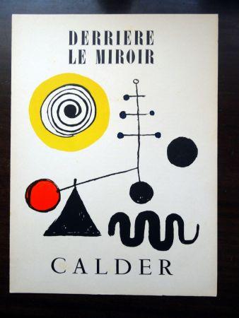 Libro Illustrato Calder - DERRIÈRE LE MIROIR N°31