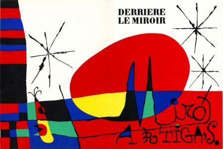 Litografia Miró - DERRIÈRE LE MIROIR N°87-88-89. MIRO ARTIGAS. Juin-Juillet-Août 1956.