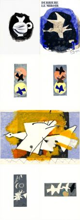 Libro Illustrato Braque - DERRIÈRE LE MIROIR N° 115. BRAQUE. Juin-Juillet 1959.