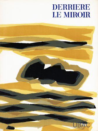 Libro Illustrato Ubac - DERRIÈRE LE MIROIR n° 142 . GOUACHES ET ARDOISES TAILLÉES. Mars 1964. DE LUXE SIGNÉ