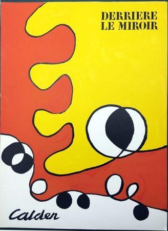 Libro Illustrato Calder - DERRIÈRE LE MIROIR N° 173. 6 LITHOGRAPHIES ORIGINALES EN COULEURS (1968).