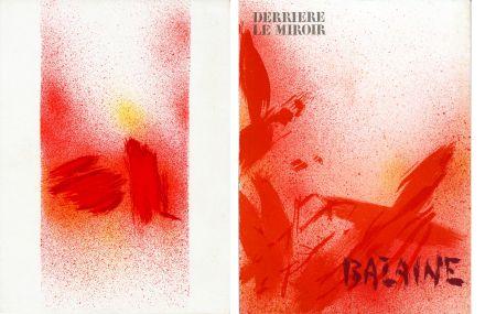 Libro Illustrato Bazaine - DERRIÈRE LE MIROIR N° 215. BAZAINE. Octobre 1975 (7 lithographies originales).