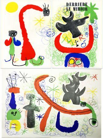 Litografia Miró - DERRIÈRE LE MIROIR n° 29-30 - MIRO. PARLER SEUL - Mai 1950.