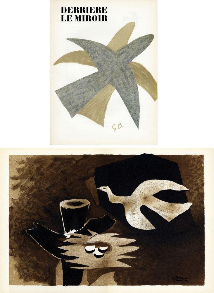 Libro Illustrato Braque - DERRIÈRE LE MIROIR N° 85-86. BRAQUE. Avril-mai 1956.