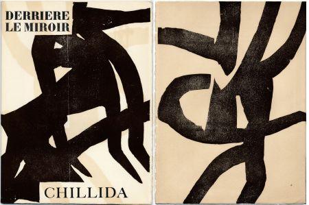 Libro Illustrato Chillida - DERRIÈRE LE MIROIR N °90-91. CHILLIDA. Oct.-Novembre 1956.