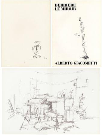 Libro Illustrato Giacometti - DERRIÈRE LE MIROIR N° 98. L' ATELIER D' ALBERTO GIACOMETTI (Jean Genet). Juin 1957.