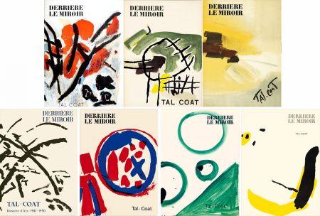 Libro Illustrato Tal Coat - DERRIÈRE LE MIROIR. TAL-COAT. Collection complète des 7 volumes de la revue consacrés à PIERRE TAL-COAT (de 1954 à 1972).