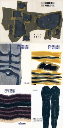 Libro Illustrato Ubac - DERRIÈRE LE MIROIR. UBAC. Collection complète des 9 volumes de la revue consacrés à Raoul Ubac (de 1950 à 1982).