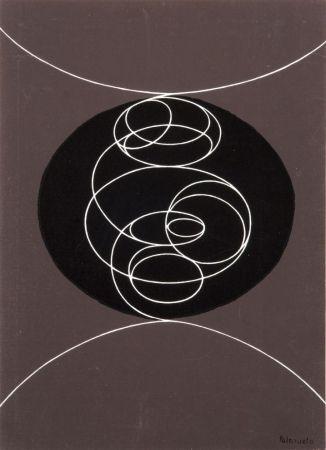 Serigrafia Palazuelo - Derrière le Miroir