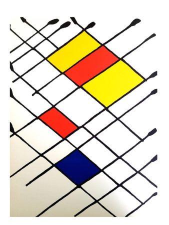 Litografia Calder - Derrière le Miroir