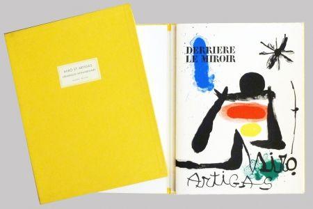 Libro Illustrato Miró - Derrière le miroir 139 140