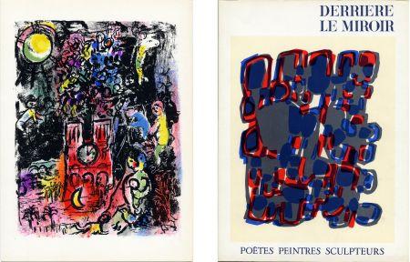 Libro Illustrato Chagall - Derrière le Miroir n° 119. POÈTES, PEINTRES, SCULPTEURS; 1960) CHAGALL - MIRO - BRAQUE - CHILLIDA - TAL-COAT, etc
