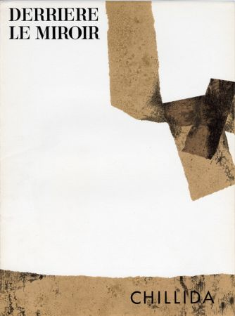 Libro Illustrato Chillida - Derrière le Miroir n° 124. CHILLIDA. 1961