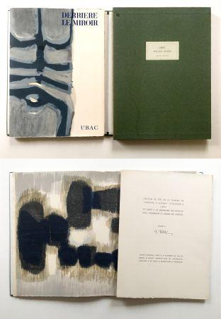 Libro Illustrato Ubac - Derrière le Miroir n° 130. UBAC, PIERRES TAILLÉES (Nov. 1961). TIRAGE DE LUXE SIGNÉ.