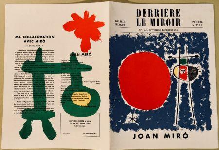 Libro Illustrato Miró - Derrière Le Miroir N° 14-15