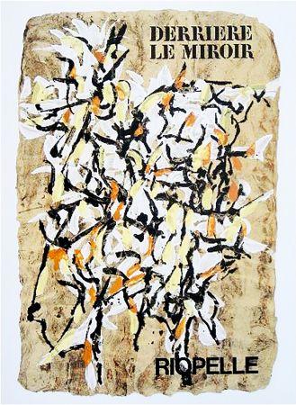Libro Illustrato Riopelle - Derrière le Miroir n° 160. RIOPELLE. 9 LITHOGRAPHIES ORIGINALES. juin 1966.
