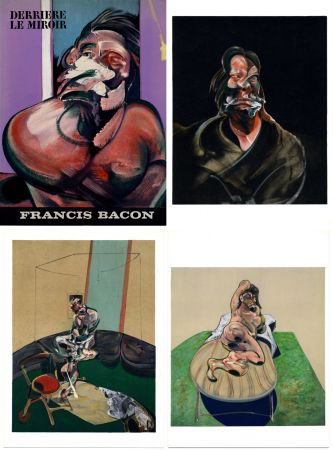 Litografia Bacon - Derrière le Miroir N° 162 Novembre 1966