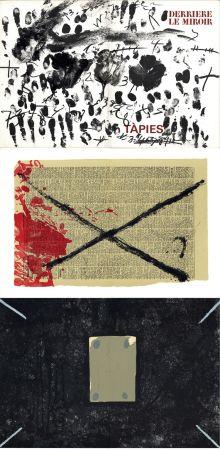 Libro Illustrato Tapies - Derrière le Miroir n° 175 . TÀPIES: