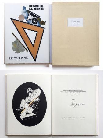 Libro Illustrato Le Yaouanc - Derrière le miroir, n° 176. Le Yaouanc. 1969. TIRAGE DE LUXE SIGNÉ.