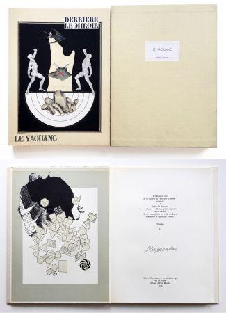 Libro Illustrato Le Yaouanc - Derrière le miroir, n° 189. Le Yaouanc. 1970. TIRAGE DE LUXE SIGNÉ.
