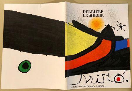 Libro Illustrato Miró - Derrière Le Miroir  N° 193- 194 Novembre 1971- Maeght Editeur