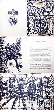 Libro Illustrato Riopelle - Derrière le Miroir n° 232. 9 LITHOGRAPHIES ORIGINALES (1979).