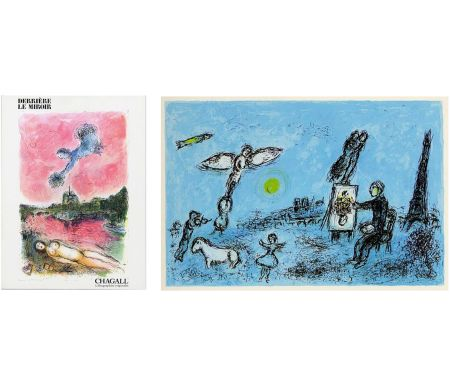 Libro Illustrato Chagall - Derrière Le Miroir n° 246 - CHAGALL. Lithographies originales. Mai 1981.