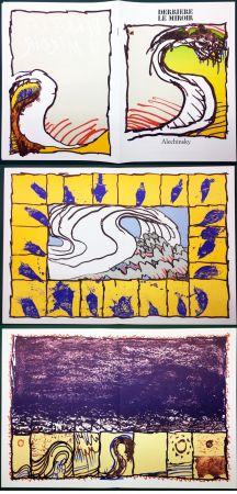 Libro Illustrato Alechinsky - Derrière le Miroir n° 247. ALECHINSKY. 6 ESTAMPES ORIGINALES. 1981
