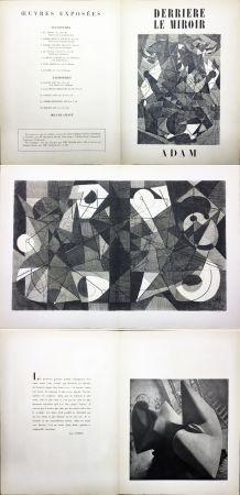 Libro Illustrato Adam - Derrière le Miroir n° 24. ADAM - Décembre 1949. 1ere édition.