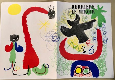 Libro Illustrato Miró - Derrière Le Miroir  N° 29-30, Mai 1950 - Maeght Editeur
