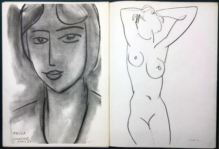Libro Illustrato Matisse - Derrière le Miroir n° 46-47. MATISSE. Mai 1952. 1ère Édition.